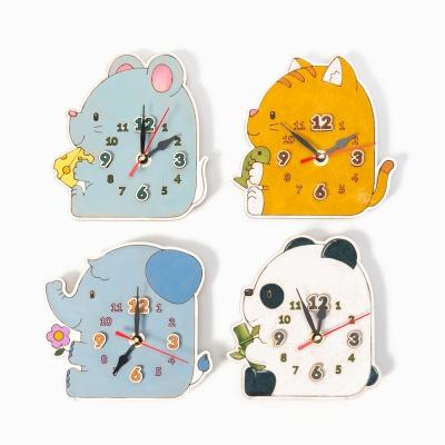 교육용 시계만들기 무브먼트 동물모양