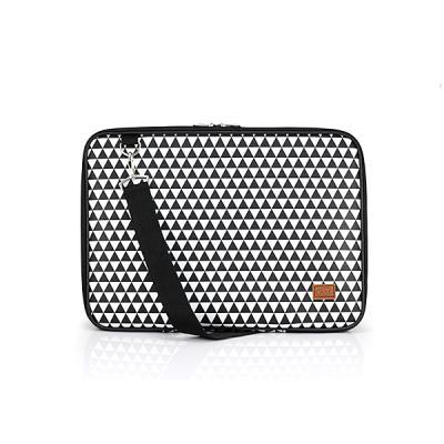 노트북가방 13.3인치 삼각트라이앵글 블랙 심플형