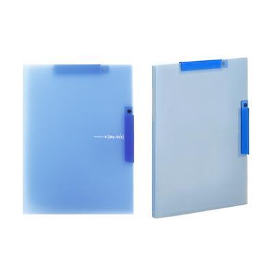 2500 더블원터치 클립화일(블루)