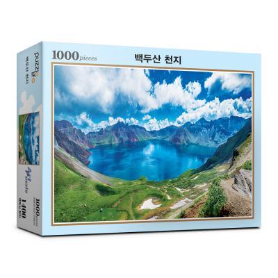 1000피스 벡두산 천지 직소퍼즐 PL1400