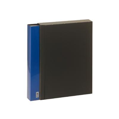 10000 A4고정식80매 클리어파일(블루)