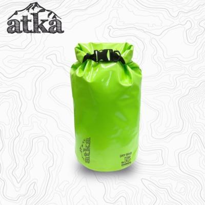ATKA 방수가방 DryBag 15L - Green
