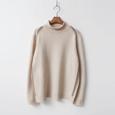 Cashmere Wool Half Turtleneck Sweater