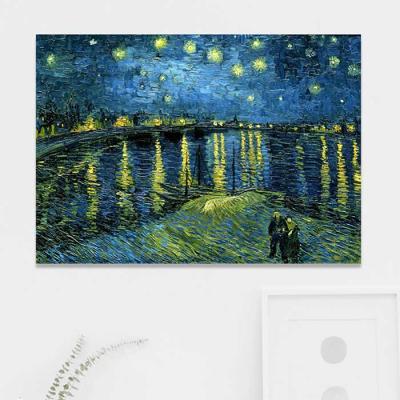 주문제작 액자 고흐 Starry Night1888 841x594x30mm