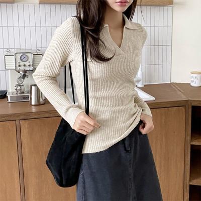 Wool Collar Sweater