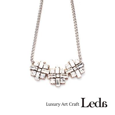 [레다주얼리] 스파클링3 Necklace