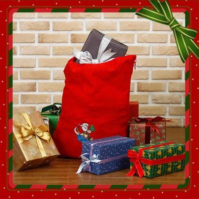 산타클로스 선물 보따리(48cmx60cm)