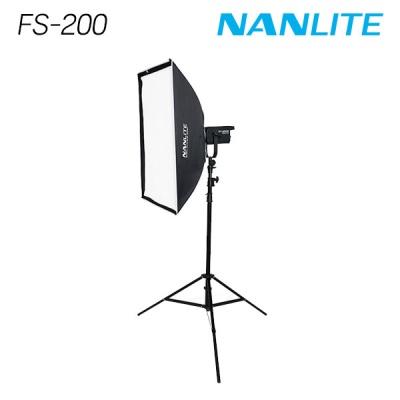 난라이트 FS-200 소프트박스 90x60 원스탠드 세트
