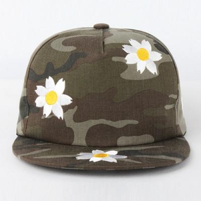 [알슨] ARSON AC-009 CAMO FLOWER SNAPBACK (GREEN)