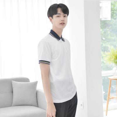 [긴팔가능] 쿨론원단 삼색 카라티셔츠 (3color)