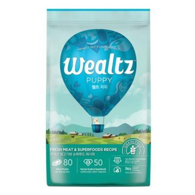 웰츠 독 퍼피 2.1kg 강아지사료