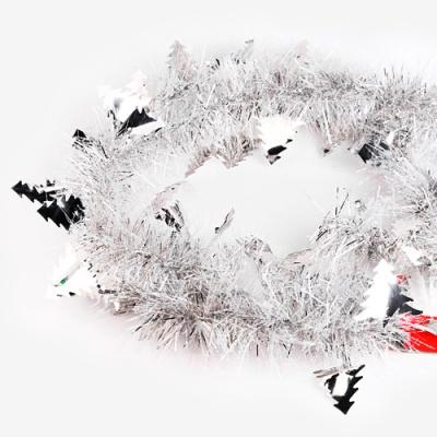 [인디고샵] 크리스마스 실버 트리 장식모루