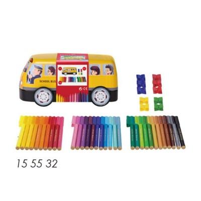 파버카스텔 커넥터펜 33색 틴 자동차 색칠 싸인펜
