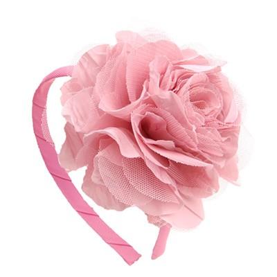 [헤어보우]Lobelia 헤어밴드-Pink