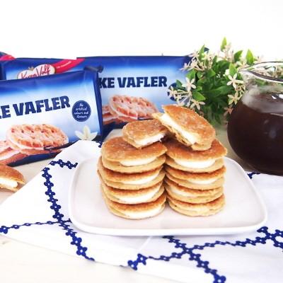 비스카 바닐라 크림맛 프랑스식 와플