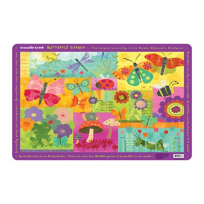 [Crocodile Creek] Butterfly Garden Placemat