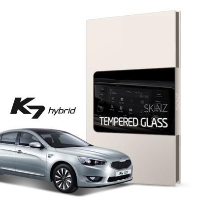 기아 K7 하이브리드 8인치 네비 강화유리 필름 1매