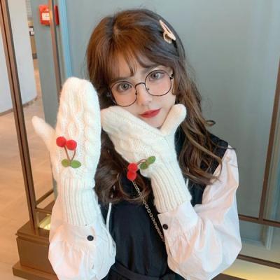 레리 여성 겨울 벙어리 털장갑
