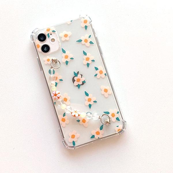 미니 플라워 스트랩케이스(아이폰11)