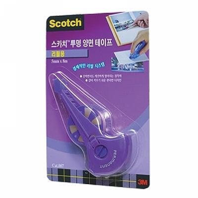3M 스카치 투명 양면테이프 017 리필