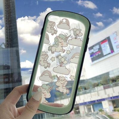 아이폰 유니콘 패턴 디자인 하드 핸드폰 케이스 1475