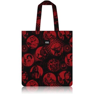 nother Red & Black Flat Tote / 나더 레드&블랙 플랫 토트백 (Star Wars™ Fabric)