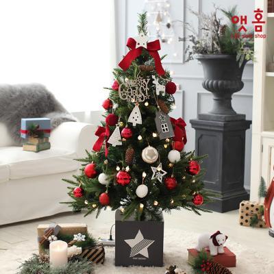 앳홈 라이트로즈 크리스마스 트리 / 1.3m
