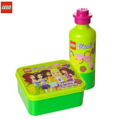 [밤나무] 레고 물병 프렌즈 도시락 물병세트