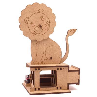 DIY Miniature 모터마타 까닥까닥사자 배터리미포함