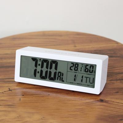 (ktsx117)퓨럴 디지털탁상시계 (화이트)