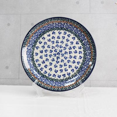 폴란드그릇 아티스티나 원형접시25cm 패턴582