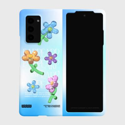 JELLY FLOWER-SKY BLUE(Z폴드2-하드)