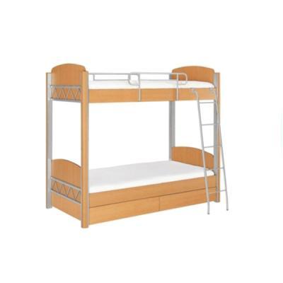 퍼시스 기숙사 2층침대 하부서랍有 학생용 URE202P