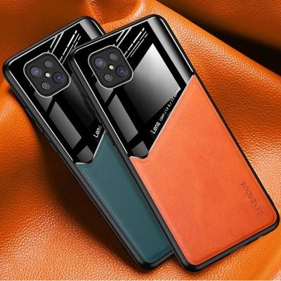 아이폰11 PRO MAX XR 하프 가죽 강화유리 하드케이스