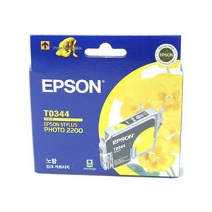 엡손(EPSON) 잉크 C13TO34470 / 노랑 / Styius Photo 2200
