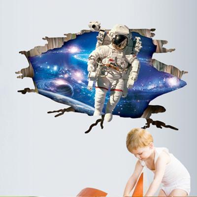 깨진벽 우주인 3D 스티커