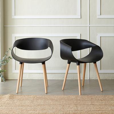 [리비니아]웨이브 인테리어 의자 1+1 2colors