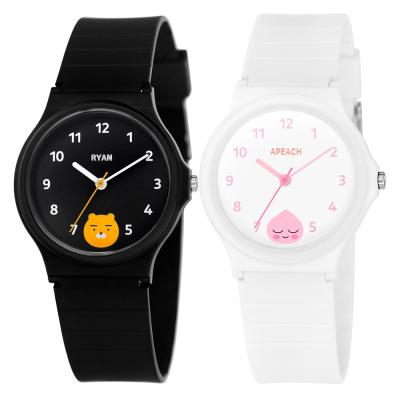 [카카오프렌즈] 클래식 우레탄 손목시계 2종 택1