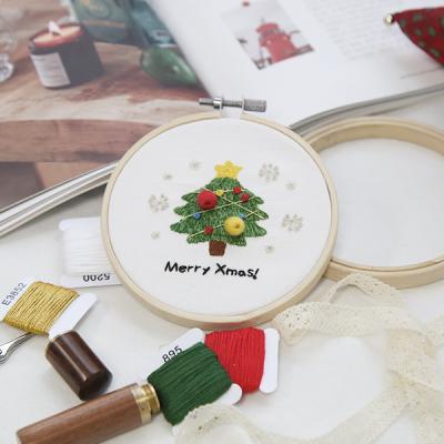 101도 프랑스자수 DIY 겨울시리즈 크리스마스 (트리)