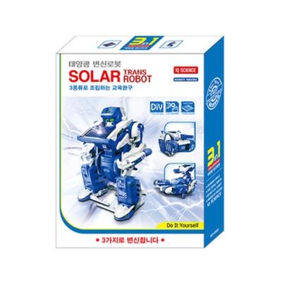 태양광 변신로봇 3종 로봇 조립키트 포비월드 과학