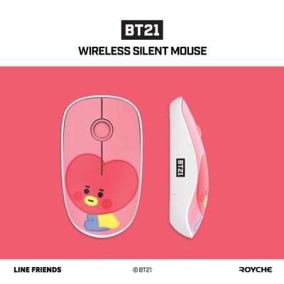 BT21 베이비 무선 무소음 마우스