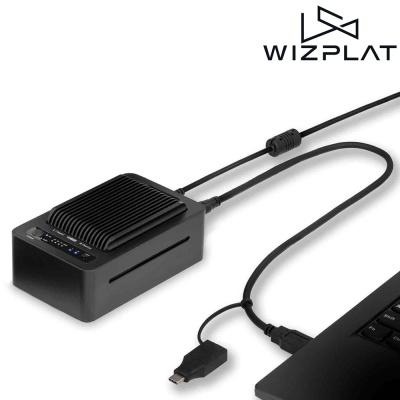위즈플랫 2베이 도킹스테이션 NVME2U32CP