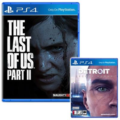 PS4 더 라스트오브어스 파트2 + 디트로이트 비컴 휴먼