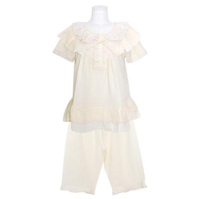 [쿠비카]올록볼록 하단 이중 투피스 여성잠옷 W782