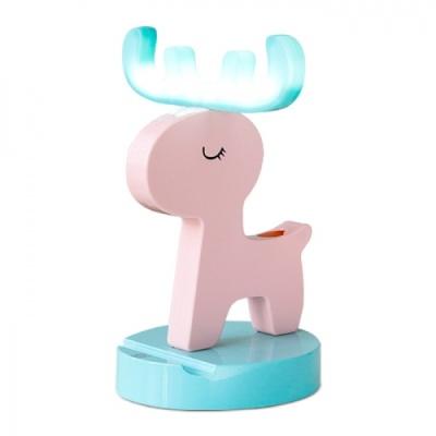 [레토] LED 무선사슴무드등 핑크 397799