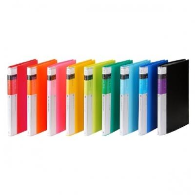 20매클리어화일F520-7 청색 (문화) 310919