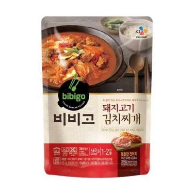 [CJ제일제당] 비비고 돼지고기김치찌개 460gx3팩