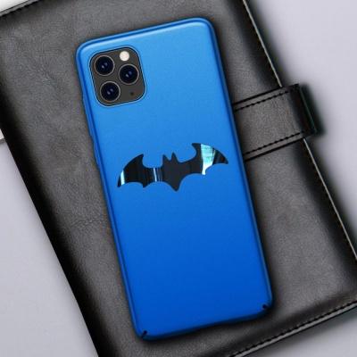 아이폰XR XS MAX X 히어로 박쥐 슬림 매트 하드케이스