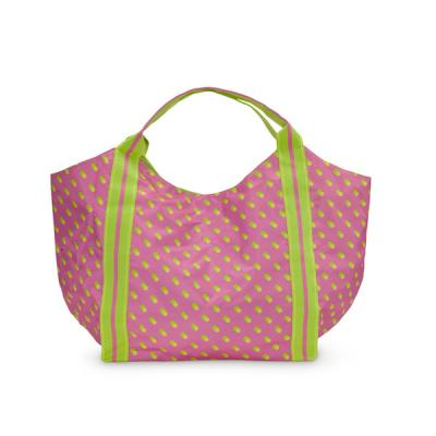 [ALL FOR COLOR]Beach Tote 비치 토트백 - Citrus Dot
