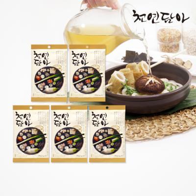 [천연담아]9가지재료 명품자연조미료(6gx8ea)5개세트